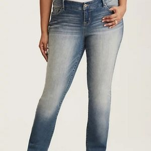 Torrid Barely Boot Light Wash Plus Size Jeans
